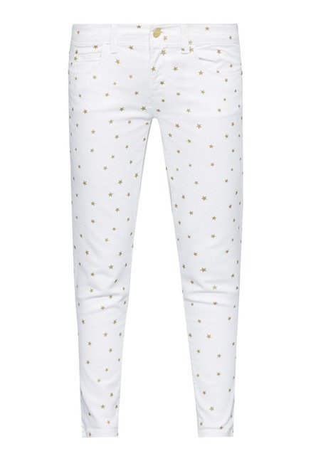 Nuon White Skinny Fit Jeans