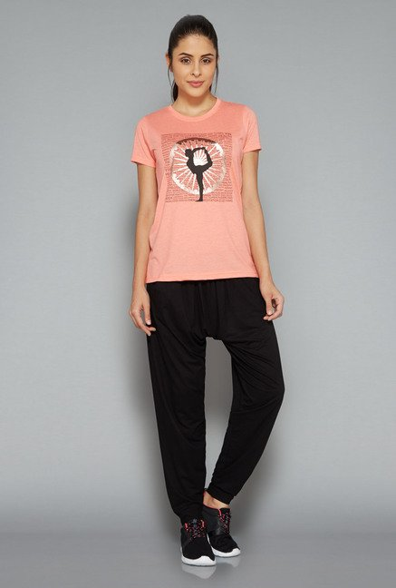Westsport Womens Coral Printed T Shirt