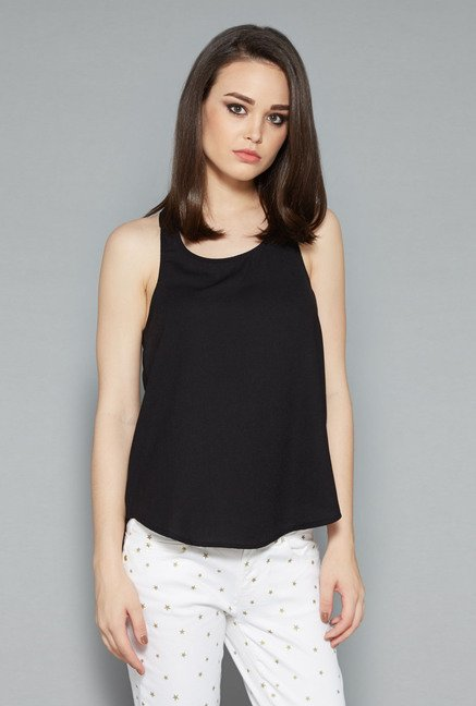 Nuon Black Minty Blouse
