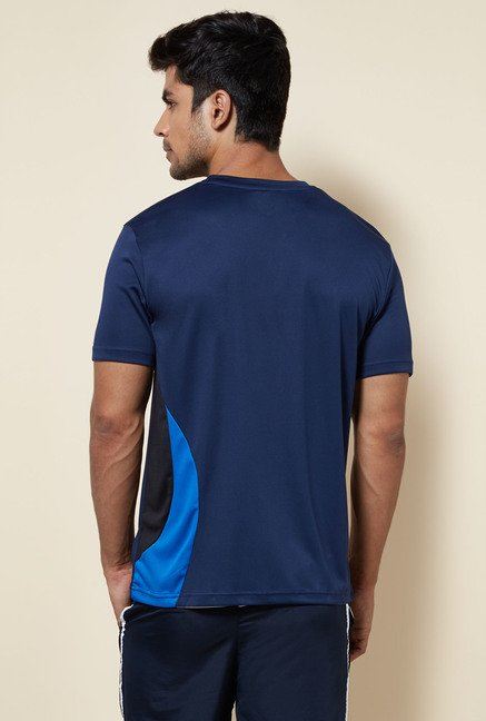 Zudio Navy Solid T Shirt