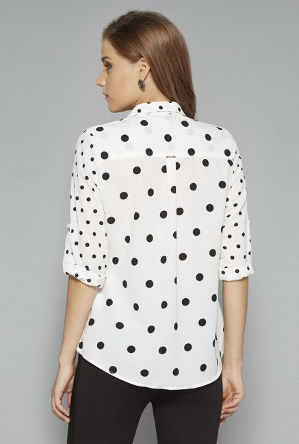 Wardrobe Off White Aarmin Blouse