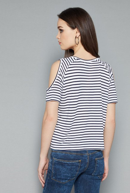 Nuon Navy Dolly Top