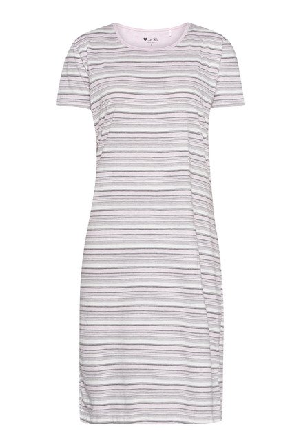 Intima Light Pink Striped Nightdress