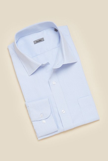 Zudio White Regular Fit Shirt