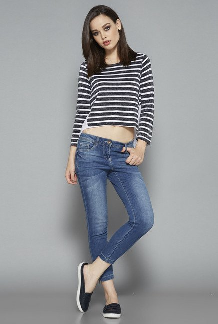 Nuon Navy Linda Top
