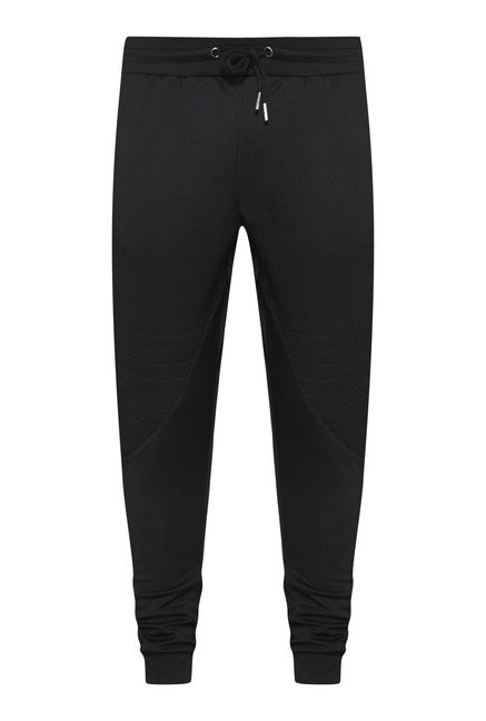 Nuon Black Solid Joggers
