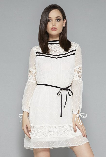 Nuon White Milana Dress