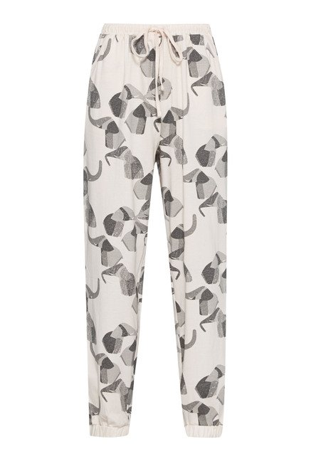 Intima Light Pink Printed Pyjama