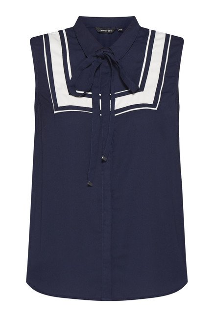 Wardrobe Navy Coast Blouse