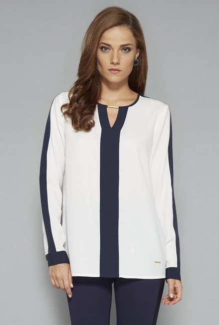 Wardrobe Off White Mally Blouse