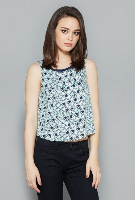 Nuon Navy Rony Top