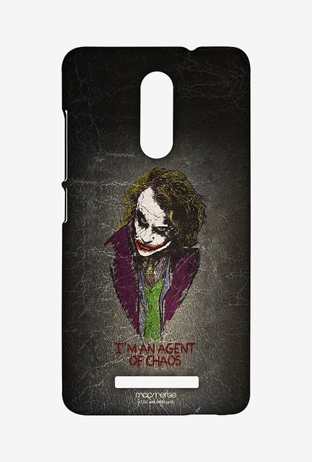 Macmerise Agent of Chaos Sublime Case for Redmi Note 3