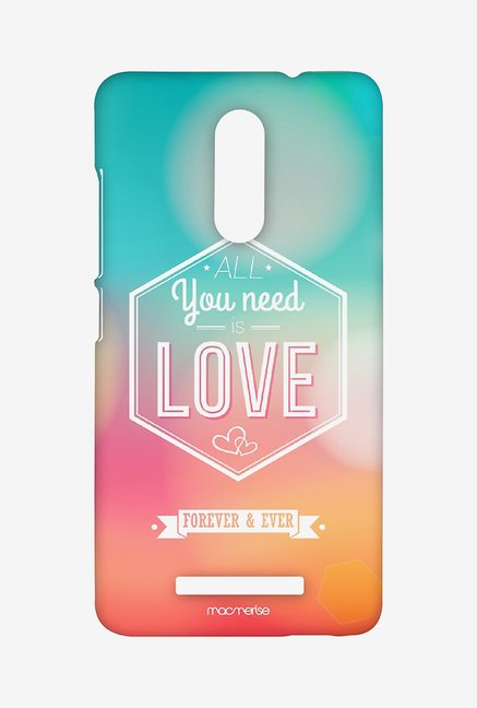 Macmerise All You Need is Love Sublime Case for Redmi Note 3