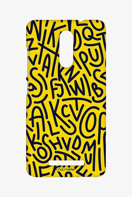 Macmerise Alphabet Mashup Sublime Case for Redmi Note 3