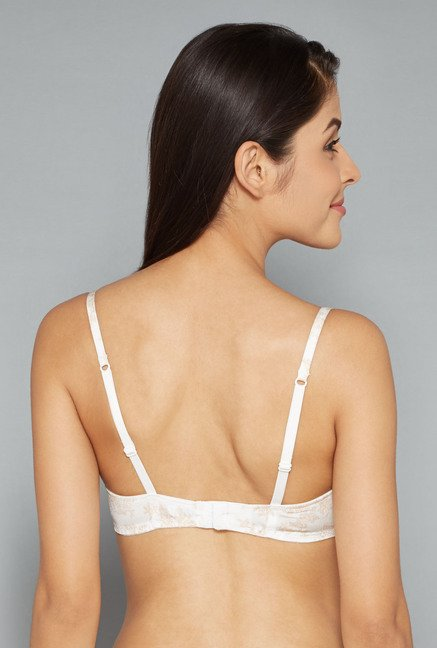 Wunderlove Off White Mary Plunge Bra