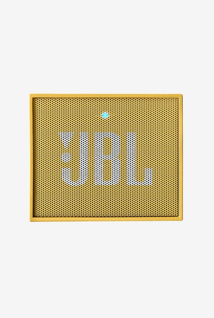 JBL Go Bluetooth Speaker (Yellow)