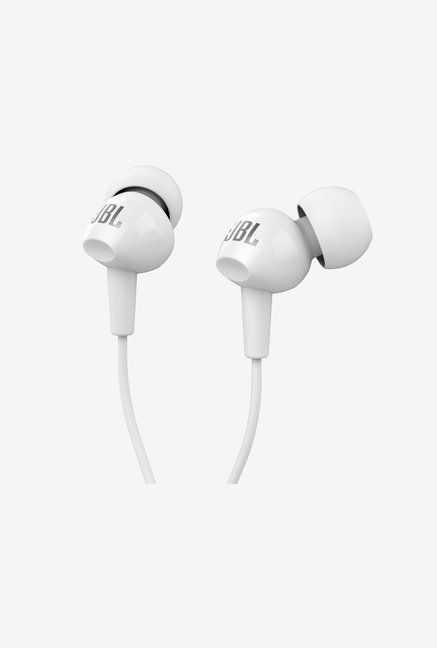 JBL C100SI In Ear Headphone (White)
