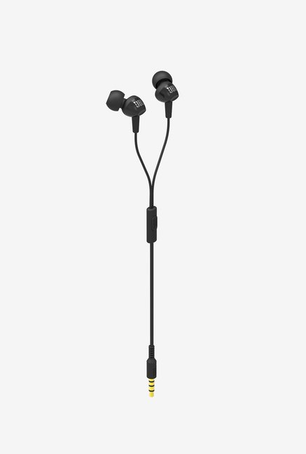 JBL C150SI In Ear Headphone (Black)