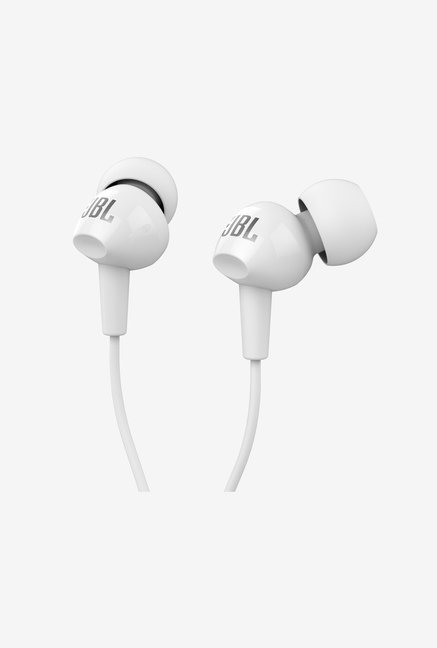 JBL C150SI In Ear Headphone (White)