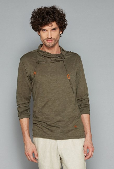 ETA Olive Slim Fit T Shirt
