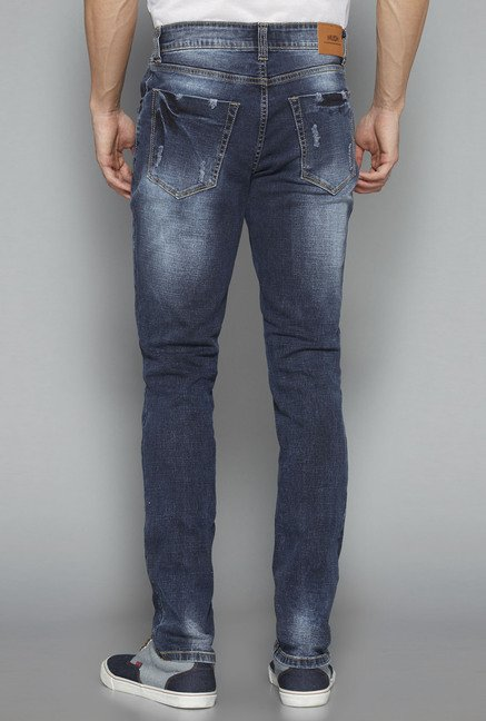 Nuon Navy Slim Fit Hendrix Jeans