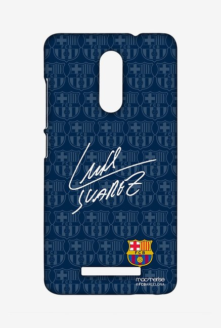 Macmerise Autograph Suarez Sublime Case for Redmi Note 3