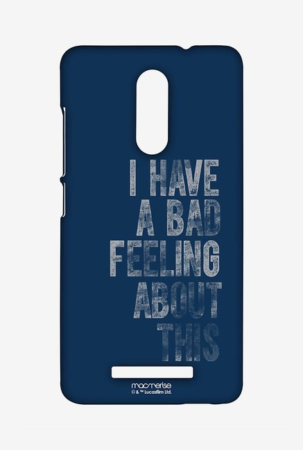 Macmerise Bad Feeling Sublime Case for Redmi Note 3