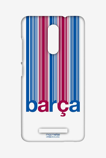 Macmerise Barca Decoded Sublime Case for Redmi Note 3