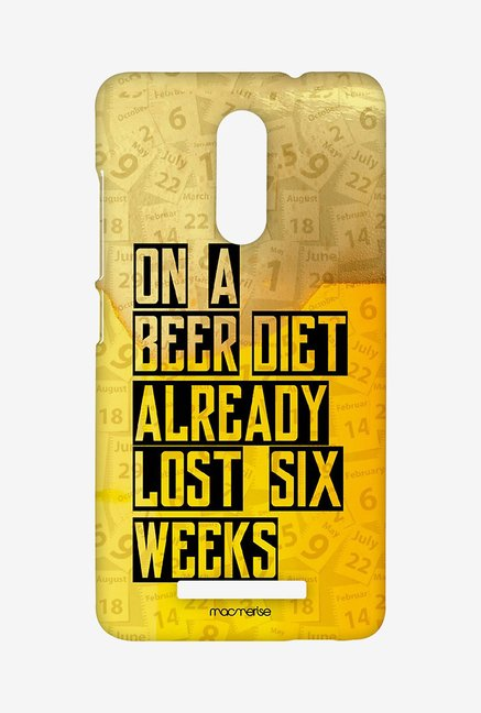 Macmerise Beer Diet Sublime Case for Redmi Note 3