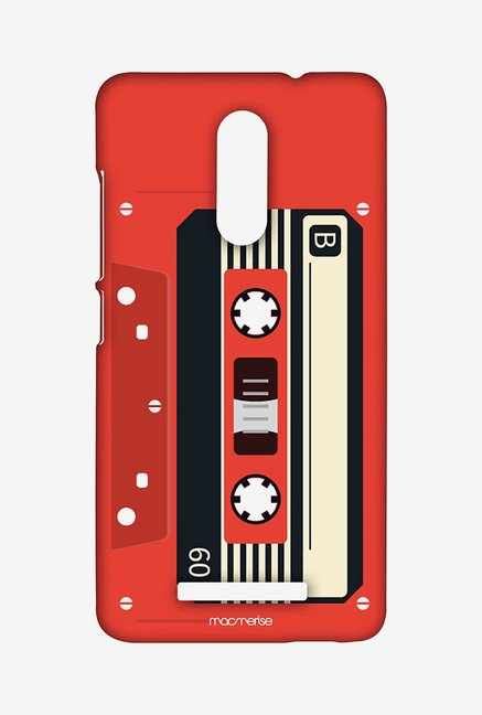 Macmerise Casette Red Sublime Case for Redmi Note 3