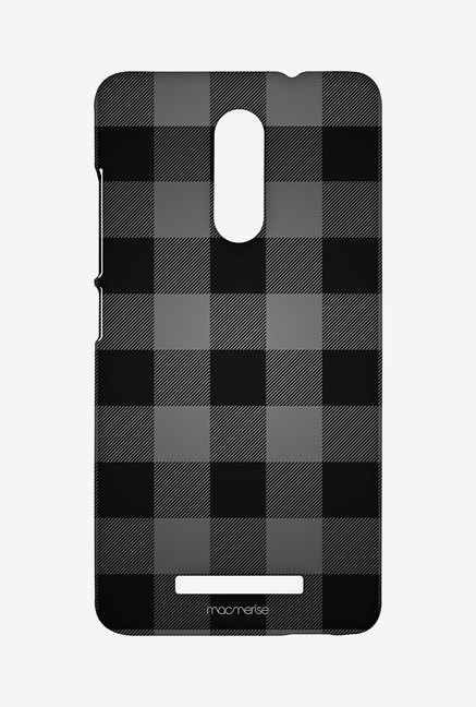 Macmerise Checkmate Black Sublime Case for Redmi Note 3