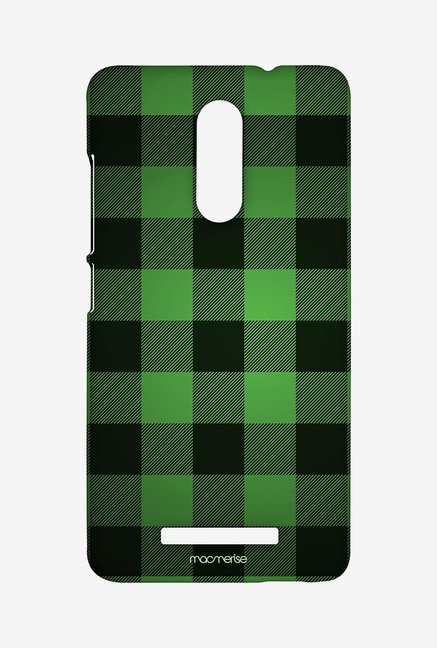 Macmerise Checkmate Green Sublime Case for Redmi Note 3