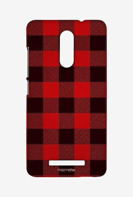 Macmerise Checkmate Red Sublime Case for Redmi Note 3