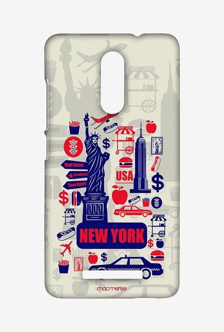 Macmerise City of New York Sublime Case for Redmi Note 3