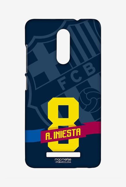 Macmerise Classic Iniesta Sublime Case for Redmi Note 3