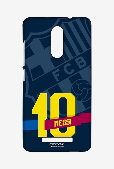 Macmerise Classic Messi Sublime Case for Redmi Note 3
