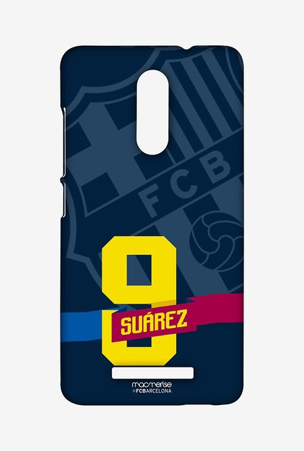 Macmerise Classic Suarez Sublime Case for Redmi Note 3