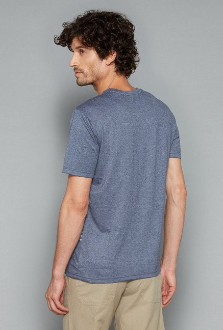 Westsport Mens Grey Striped T Shirt