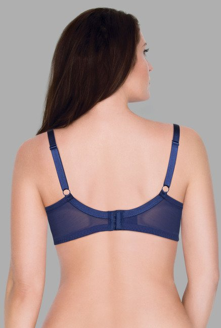 Wunderlove Navy Penny Under Wired Bra