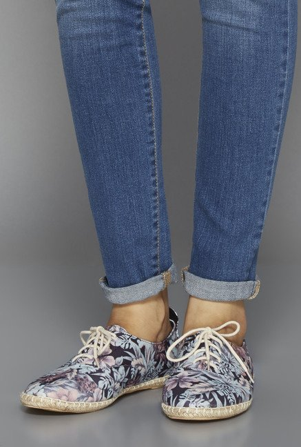 Head Over Heels Navy Sneaker Shoes