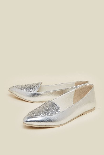 Zudio Silver Causal Shoes