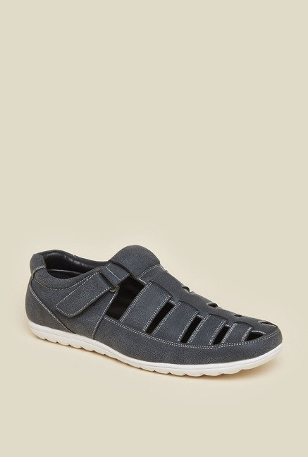 Zudio Navy Fisherman Sandals