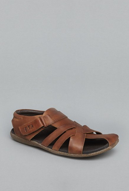 ETA Tan Leather Sandals