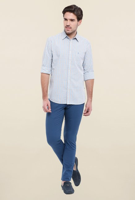 Parx Blue & Grey Checks Shirt