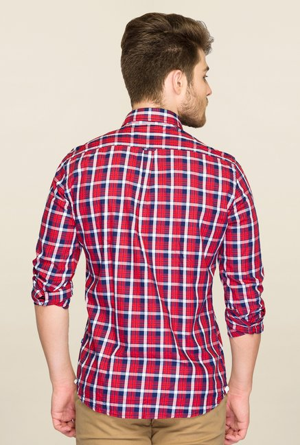 Parx Red Checks Shirt