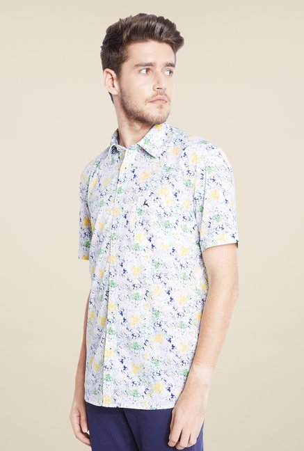 Parx Multicolor Printed Shirt