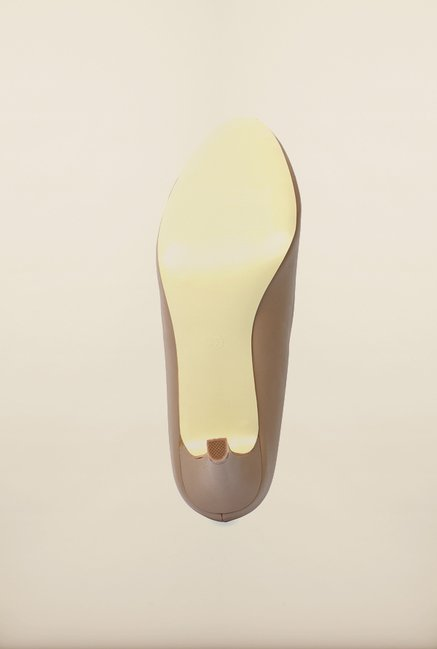 Tresmode Ceoff Dark Beige Pump Shoes