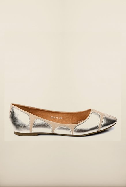 Tresmode Tia Silver Pump Shoes