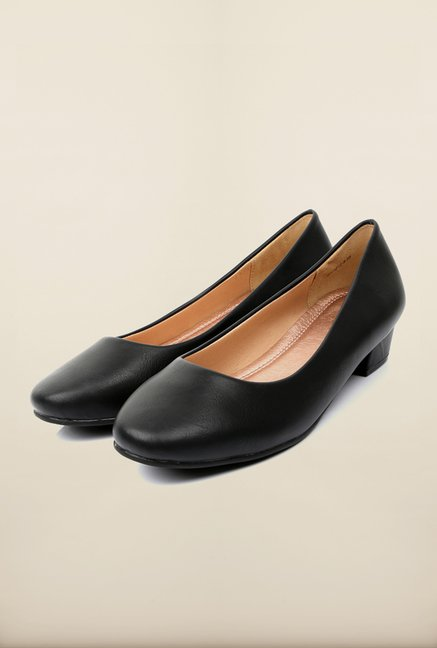 Tresmode Cegamo Black Pump Shoes