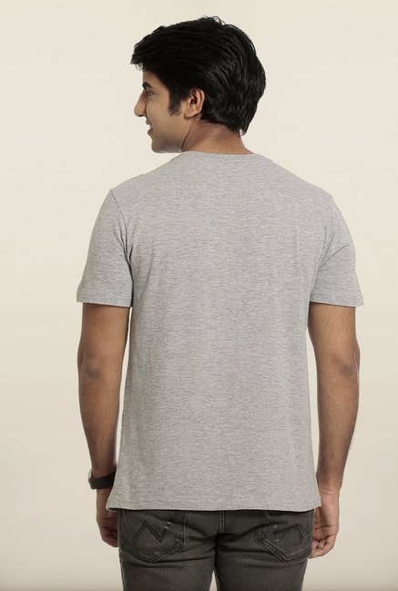 Seven Grey Printed T-Shirt
